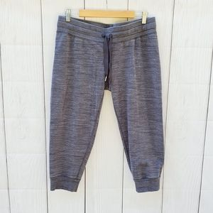 Lululemon gray crop joggers